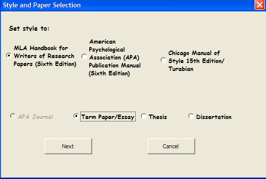 turabian paper formatting software Beyond simply creating references or citations, most citation styles have  additional guidelines about paper formatting, in-text citations, and other details.